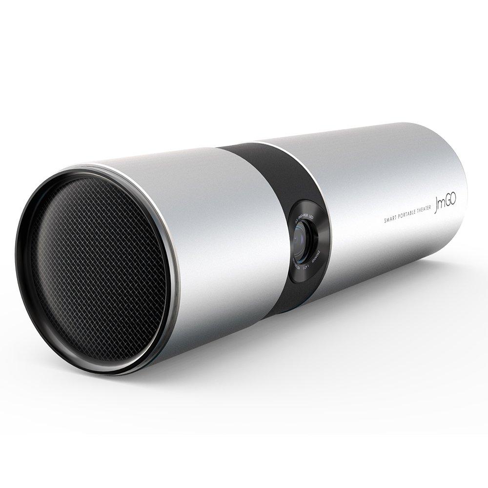 Docooler JMGO P2 ミニ プロジェクター 小型 ポータブル式 DLP 1080P 赤外線リモコン 2.4Gワイヤレスリモコン 電源アダプタ HD ビデオ/Android /TVボックス/HiFi BTスピーカー/スマホ/タブレット/3Dなど 対応 ホームシアター ビジネス教育など B07G79YRPX
