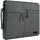 ジッパー付きキャンバスキャリースリーブバッグ ブリーフケース 対応機種: サムスン Galaxy Book 12 / Lenovo Miix 710 12 / Asus Transformer 3 12.6 / Eve V 12 / iPad Pro 2 12.9 / Dell Latitude 5285 / Huawei MateBook 13.3 タブレット