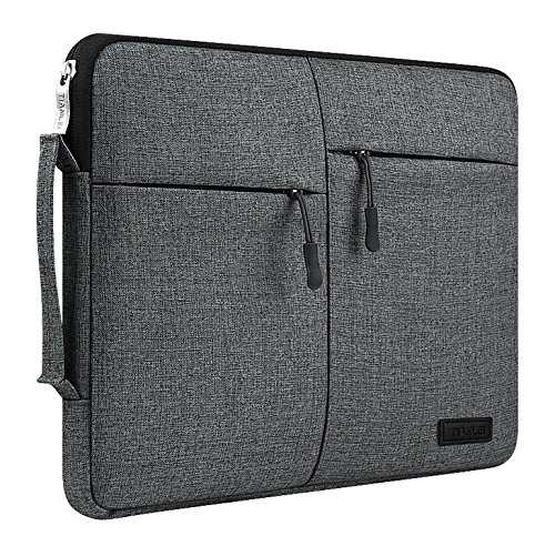 Zippered Canvas Carrying Sleeve bag Breifcase for Samsung Galaxy Book 12 / Lenovo Miix 710 12 / Asus Transformer 3 12.6 / Eve V 12 / iPad Pro 2 12.9 / Dell Latitude 5285 / Huawei MateBook 13.3 Tabelt
