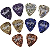Taylor Marble Assortment Guitar Picks Medium 10-Pack
