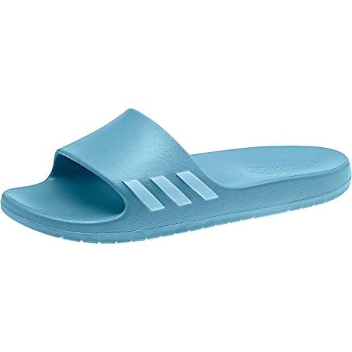 new concept 5240d 49b60 Adidas - Aqualette W Slides - CG3054 - Color Blue - Size 8.5