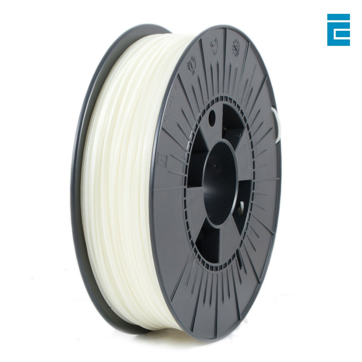 ICE Filaments ICEFIL1ABS051 ABS filament, 1.75mm, 0.75 kg, Glow-in-the-Dark MCPP