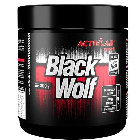 BLACK WOLF | 300g / 30 Portionen | Hardcore Serie | Nitro / Pre ...