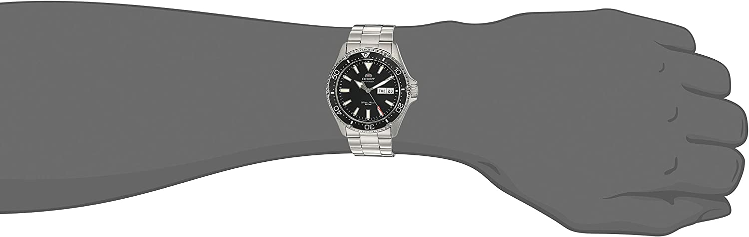 Orient Men s Kamasu Stainless Steel Japanese-Automatic Diving Watch