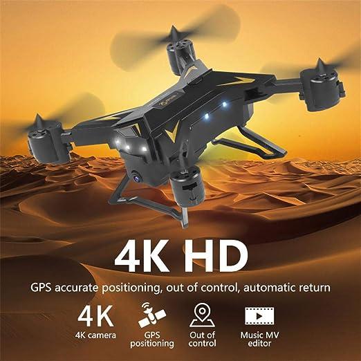 runnerequipment HD 5G WiFi FPV Drone de Vuelo con cámara: Amazon ...