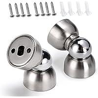 Sumnacon Powerful Magnetic Doorstop - 2 Pcs Stainless Steel Mini Door Stopper, Heavy Duty Magnetism Door Holder for…