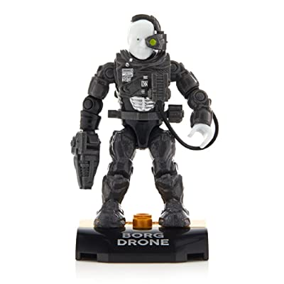 Mega Construx Heroes Series 1 Star Trek: The Next Generation Borg Figure: Toys & Games