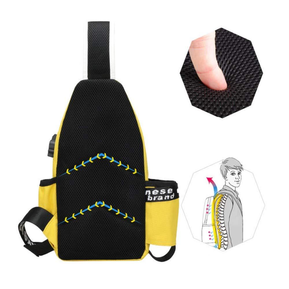 XHYYQX XHYYQX XHYYQX Brustgurt Tasche Männer Outdoor Freizeitsportarten Verstellbarer Bügel Tasche Einer Umhängetasche Tragbare Tasche B07NT4T9S1 Schultertaschen 7dc1fc