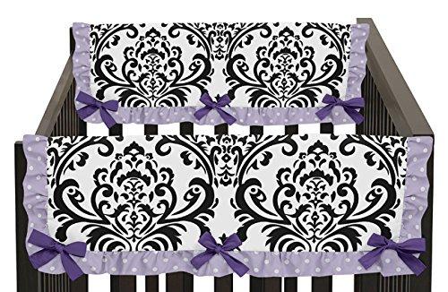 Sweet Jojo Designs Sloane Lavender Purple and Damask Teethin