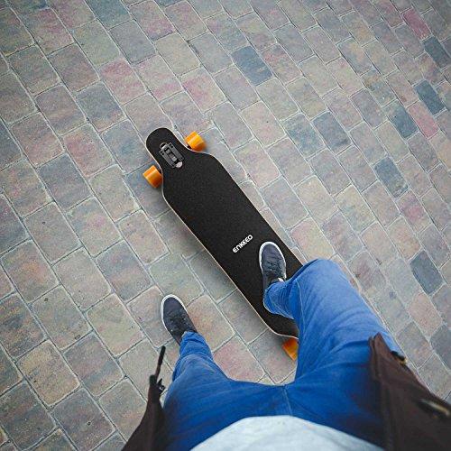 enkeeo longboard  Enkeeo 41 Inch Drop-Through Longboard Skateboard Complete for ...