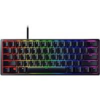 Razer Huntsman Mini Gaming Keyboard: Fastest Keyboard Switches Ever, Purple Switch (Clicky Optical Switches), Chroma RGB…