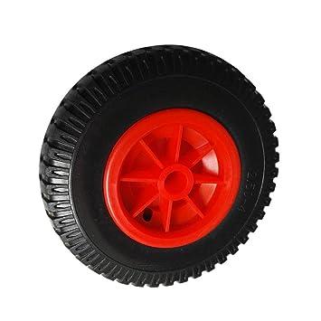 FLAMEER Neumático De La Rueda De Goma para El Carro De Transporte De La Carretilla del Remolque del Portador De La Canoa del Kajak: Amazon.es: Deportes y ...