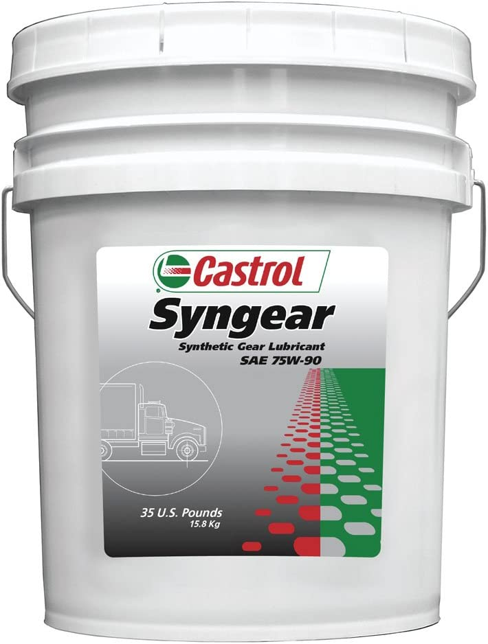 Amazon Com Castrol 37507 Syngear 75w 90 Gear Lubricant 35 Lb Automotive