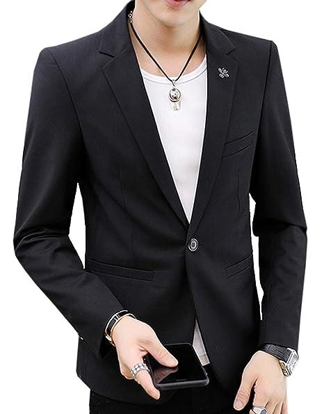 Amazon.com: Niaona - Chaqueta de vestir para hombre ...