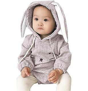 Wenini Infant Newborn Baby Boys Girls Cartoon 3D Dinosaur Hooded Romper Jumpsuit Outfits