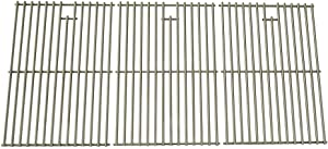 Stainless Cooking Grid for Jenn air 720-0727, 720-0709, 720-0709B, 720-0709C, 720-0727, 720-0826, 730-0709 & Kitchenaid 720-0709C, 720-0826 Gas Grill Models, Set of 3