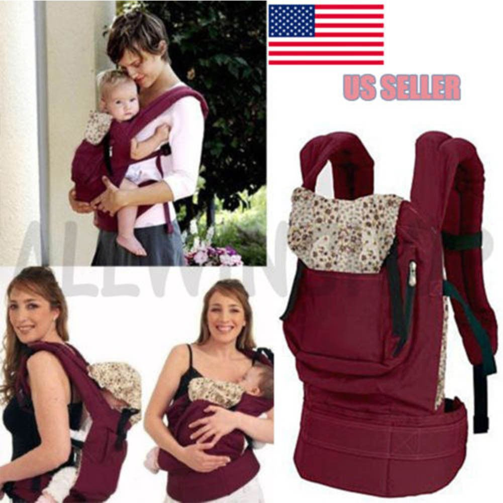 Front & Back Baby Newborn Carrier Infant Comfort Backpack Sling Wrap Cotton OY United States