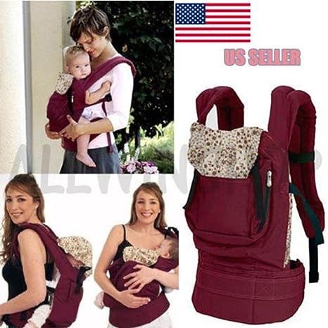 Amazon Com Front Back Baby Newborn Carrier Infant Comfort