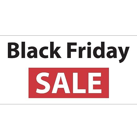 Bannerbuzz Black Friday - Pancarta de vinilo flexible de PVC ...
