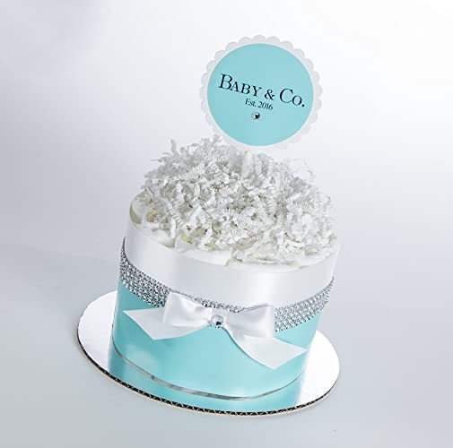 Amazon Com The Baby Co Mini Diaper Cake Baby Shower Gift Or