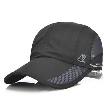 351a3145000 Quick Dry Baseball Caps - Summer Sports Mesh Breathable Adjustable Sun Hat  Visor Trucker Hats -