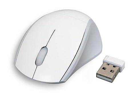 Rcool Ratón sin hilos 2.4GHz Ratón óptico inalámbrico receptor PC USB inalámbrico de la computadora