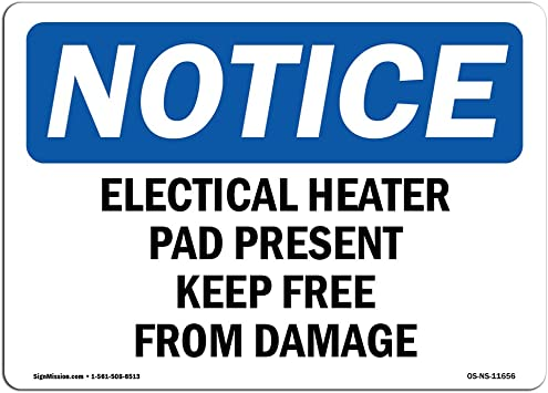 NS Signs Warning Electrical Panel Keep Clear Up To 36 Inches OSHA Safety Sign