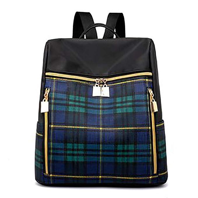 mochilas para mujer a prueba de agua. Sra. Tela de nylon impermeable antirrobo mochila informal mochila para mujer bolso skul pequeño: Amazon.es: Ropa y ...