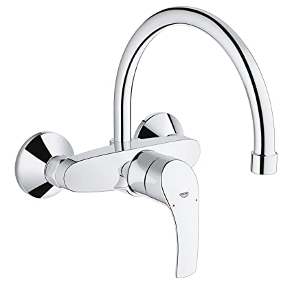 Grohe 32482002 Eurosmart Miscelatore Cucina, Cromo: Amazon.it: Fai da te