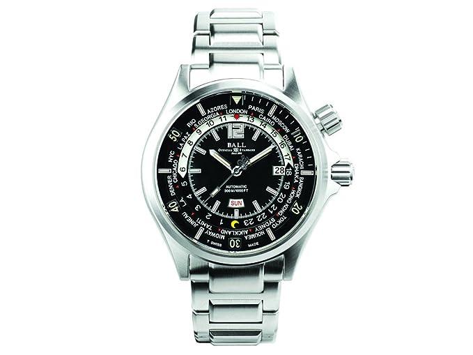 Reloj Ball Engineer Master II Diver, Ball RR1102, Negro/Verde, DM2020A-SA-BKGR: Amazon.es: Relojes