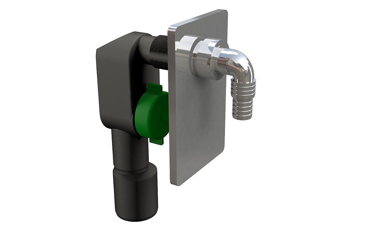 Bonomini 3200 cr50b9 sifón ad integrado para Lavadora o ...
