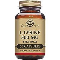 Solgar L-Lysine 500 mg Vegetable Capsules - Pack of 50