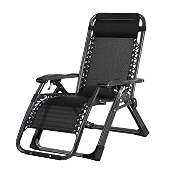 Amazon.com : Foldable Seat Folding Chair Recliner Beach ...