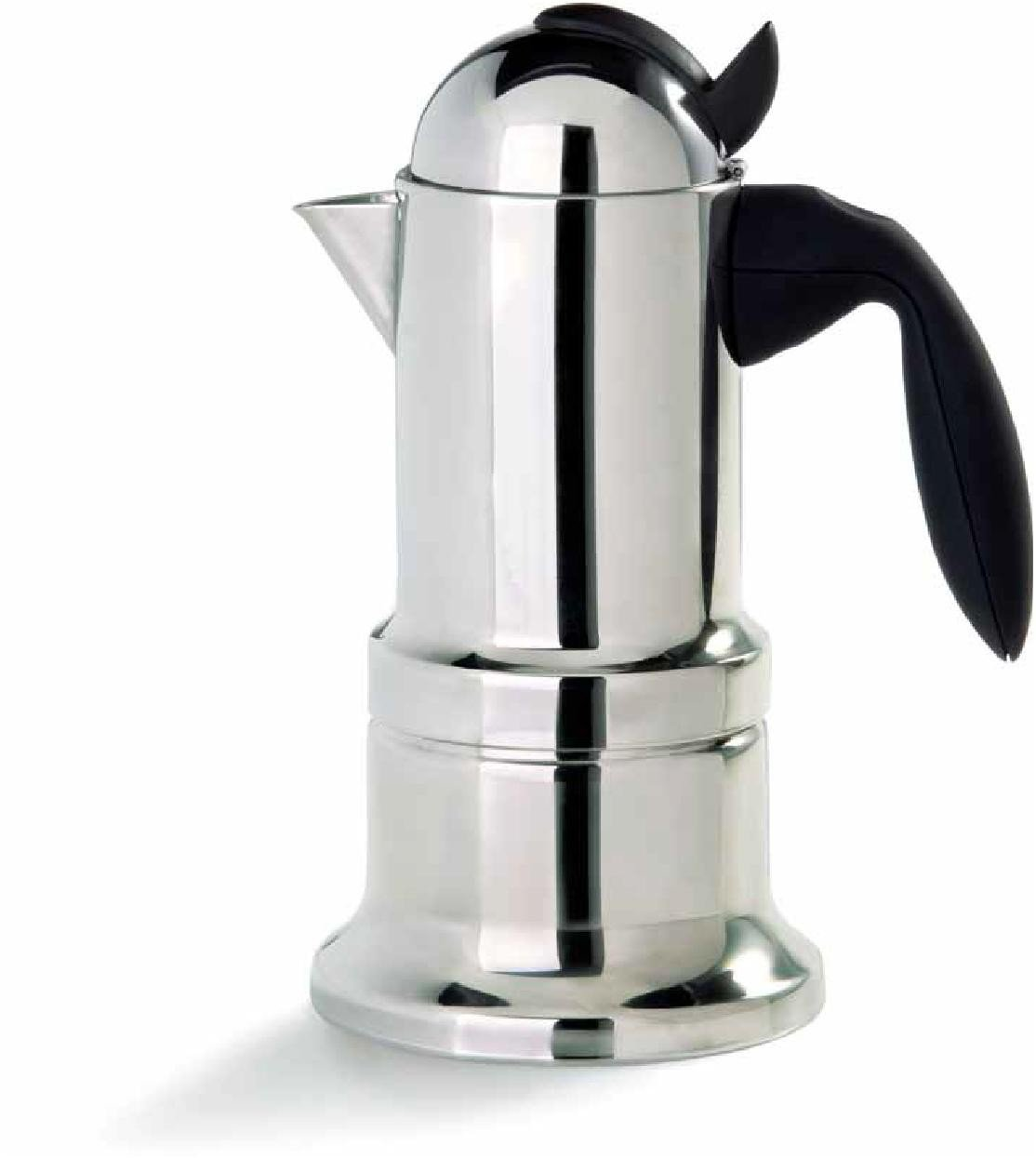 Stovetop Espresso Maker - Vev Vigano Kontessa Nuova 4 Cup Size