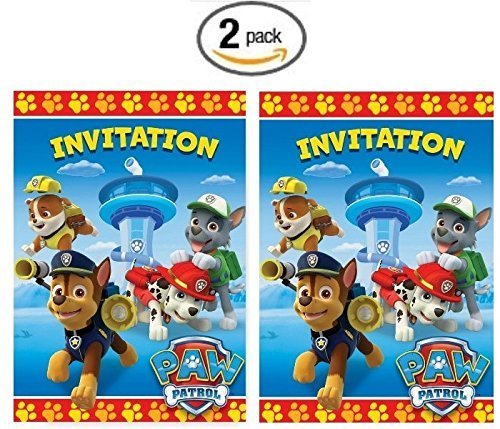 Paw Patrol Party Invites (PAW Patrol Party Invitations,)