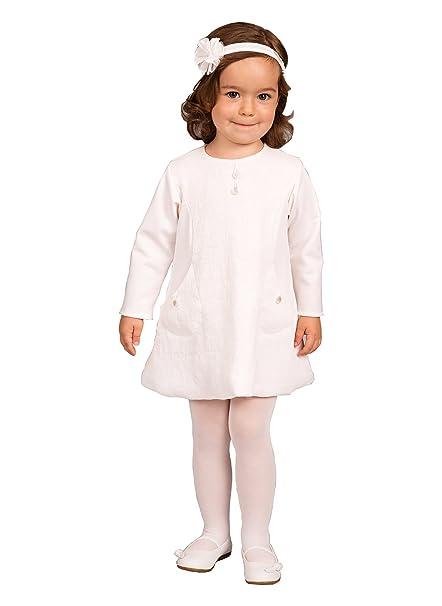 152af5df5 Capti - Ropa de bautizo - para bebé niña beige 68: Amazon.es: Ropa y  accesorios