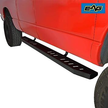 EAG Running Boards Side Step Fit 07-18 Chevrolet Silverado //GMC Sierra Crew Cab
