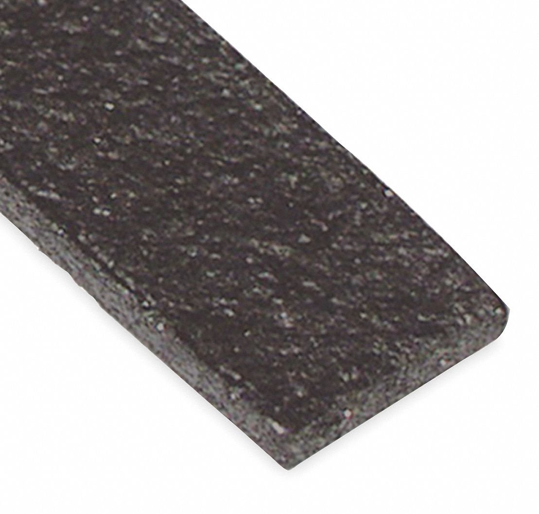 Intumescent, Fire Seal, Graphite, 21 ft. Overall Length, 7/16'' Overall Width, 3/64'' Overall Height