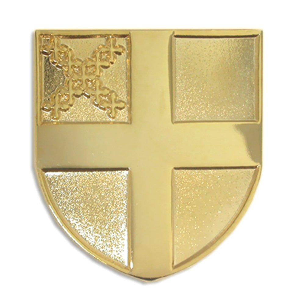 PinMart's Gold Plated Episcopal Episcopalian Religious Lapel Pin
