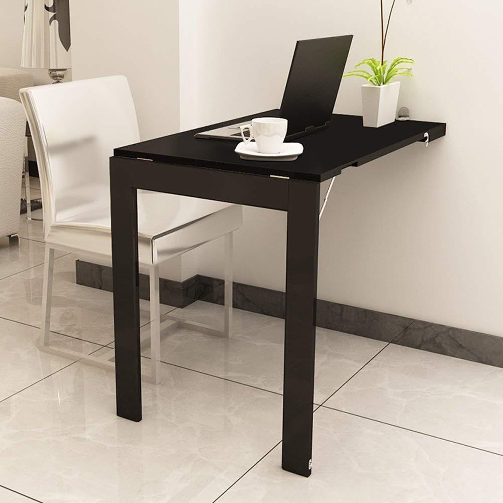 壁掛け式ドロップリーフテーブルダイニングテーブルコンバーチブルデスク折りたたみ式テーブル B07TBMFLT8