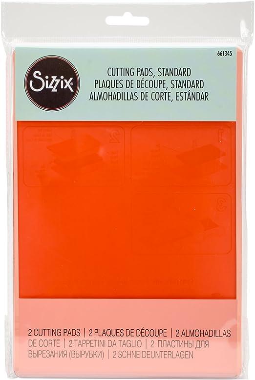 Sizzix Big Kick Big Shot Cutting Pads 1 Pair Standard 2 Clear 655093 NEW
