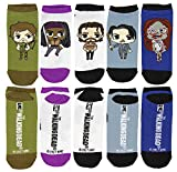 Show your ultimate fandom stepping out in these super fun crew socks. It is without a doubt, the perfect addition to the collection of the ultimate hardcore fan!