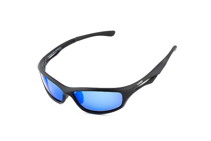Sunner Gafas de Sol Deportivas Para Hombre y Mujer SUS0968 Protección UV400 Lentes Polarizadas Montura Ligera