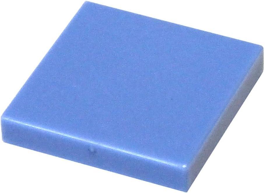 LEGO Parts and Pieces: Medium Blue 2x2 Tile x200