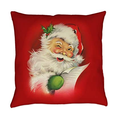 Amazon.com: freshzone Smile Laugh heartily Papá Noel Navidad ...
