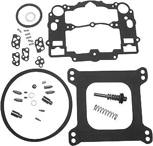 KIPA Carburetor Rebuild Kit For EDELBROCK # 1477 1400 1404 1405 1406 1407 1409 1411 Fits all Automotive 500 600 650 700 750 & 800 CFM Weber Marine carburetor Mercruiser kit # 809064 Carter 9000 series