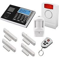 Olympia Protect 9061 Funk-Alarmanlage Super Set ✓ GSM Smat mit App✓ Kabellos ✓ Fenster & Tür | Einbruchmeldeanlage mit Bewegungsmelder für Haus & Wohnung | Drahtlos Alarmsystem, Hausalarm mit Fernbedienung erweiterbares Alarmsystem