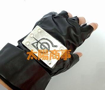 Amazon.com: Shinobu naruto-naruto Cosplay guante izquierdo y ...