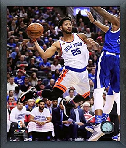 10dffc320a2 Image Unavailable. Image not available for. Color  Derrick Rose New York  Knicks ...