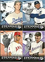 2015 Topps Stepping Up MLB Baseball Complete Mint 20 Card Insert Set with Sandy Koufax, Mariano Rivera, Albert Pujols, Jacob Degrom Plus Complete M (Mint)